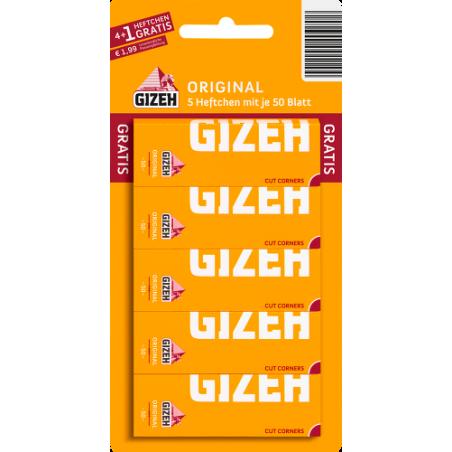 GIZEH Original Blisterkarte