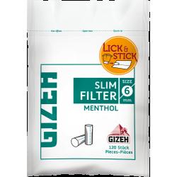 GIZEH Slim Filter Menthol